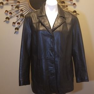 Wilsons Women's Black Leather Jacket